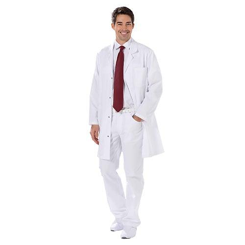Men's white coat
