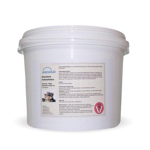 intesto.Futterzellulose - diätische Ballaststoffergänzung