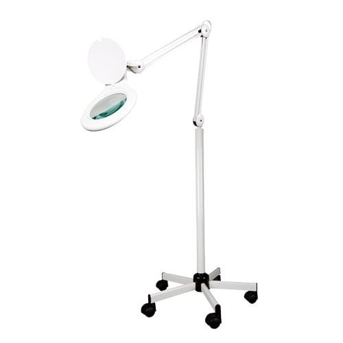 LID Loeplamp met rolstandaard