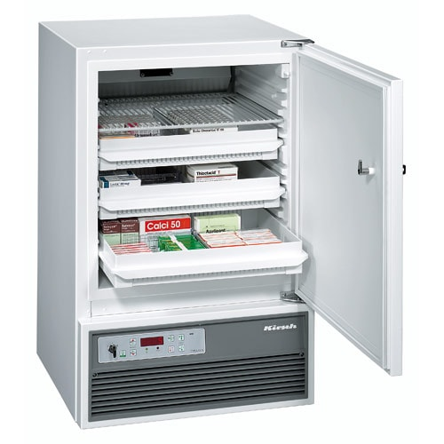 Kirsch MED-100 Pharmaceutical Refrigerator, DIN 58345-Compliant