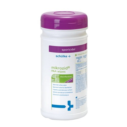 PAA wipes microcide