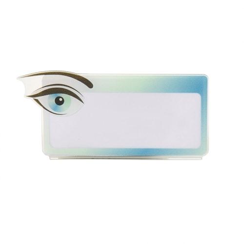 Acrylglasnaambordje oog