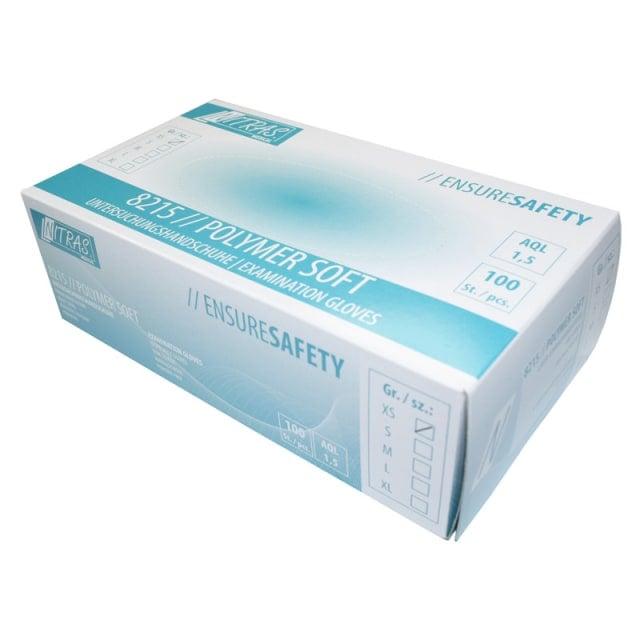NITRAS Polymer-Soft Guantes de látex
