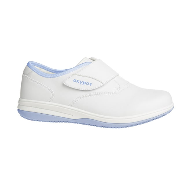 Oxypas Velcro Shoes light blue | 36
