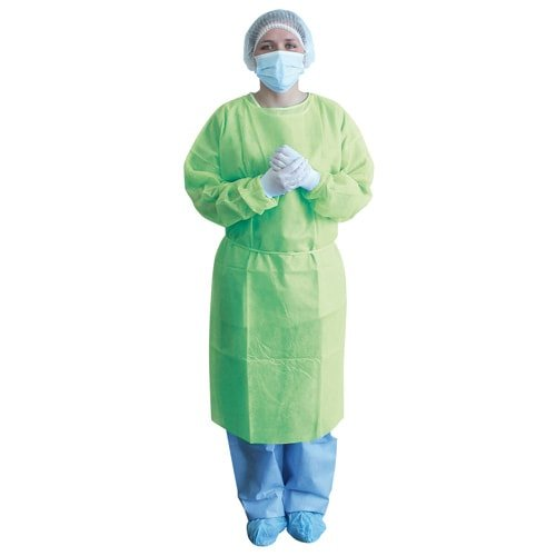 Steriler Untersuchungskittel limette