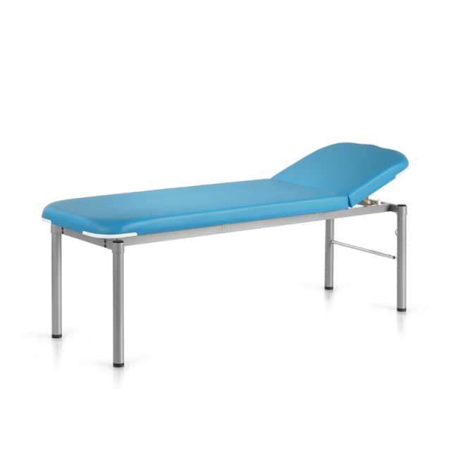 Patientenliege «Komfort Plus» 65cm Breite | hellblau