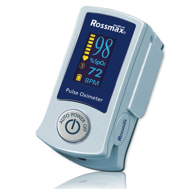 Finger Pulse Oximeter SB200 with Arteriosclerosis Recognition