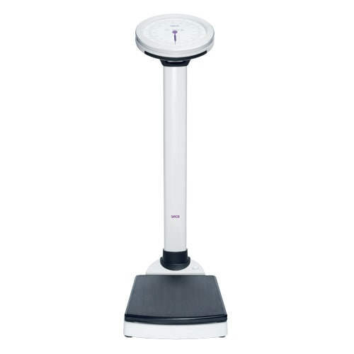 seca 755, electronic pillar scale with a BMI display