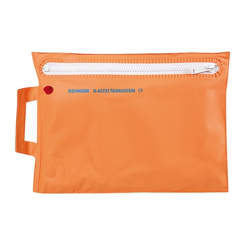 "Carrying bag for ""PneuPlast"" splints"
