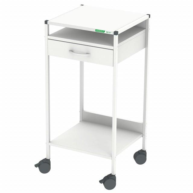 Steharbeitsplatz / Laptop-Wagen