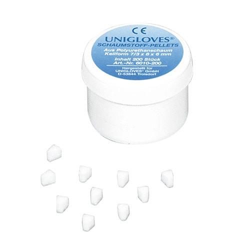 Unigloves foam pellets