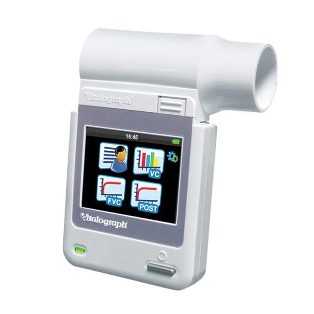 Vitalograph micro-spirometer
