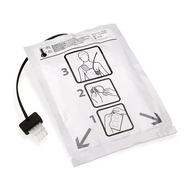 FIAB defibrillator pads for AED 10 with connection cable