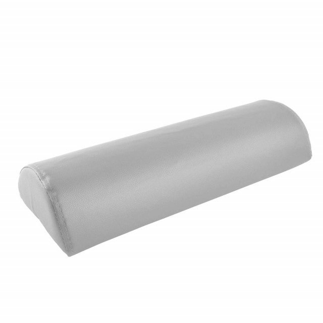 Half-roll support with easy-care imitation leather cover