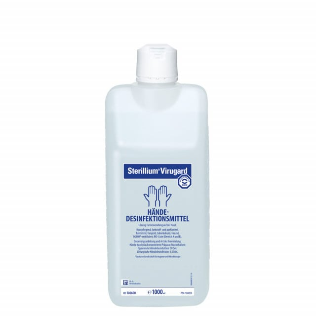 Sterillium Virugard hand disinfectant