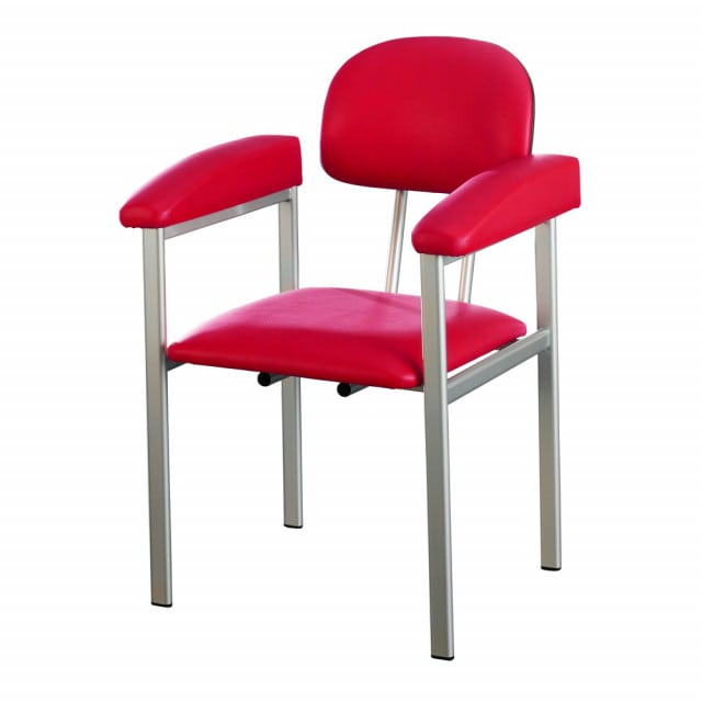 Phlebotomy chair with comfortable upholstery from AGA in modern design
