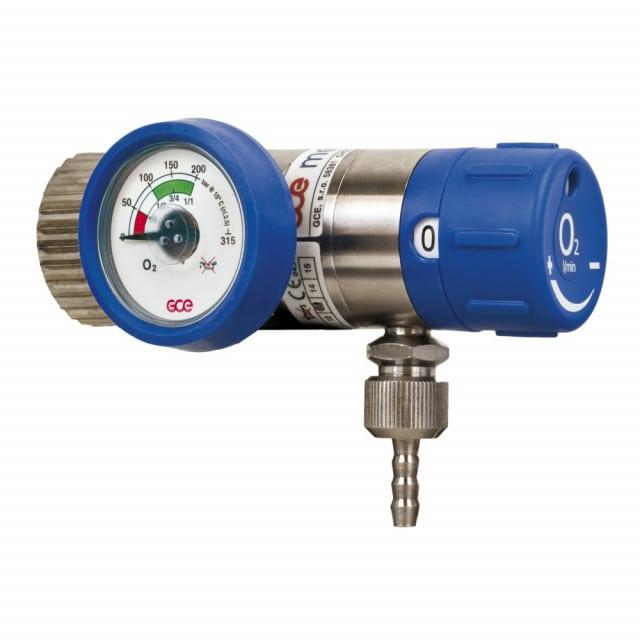 "Oxygen pressure regulator | 3/8"" G; 1/4"" G with nozzle"