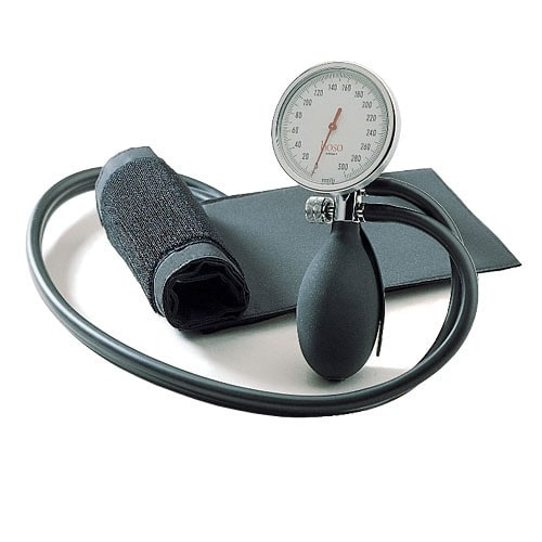 boso-roid II, upper arm blood pressure monitor with double tube, especially robust