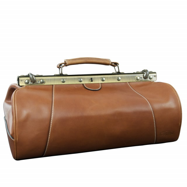 """M. Wright & Sons """"Preston"""" doctor's bag   High-quality, soft, fine cowhide leather"""