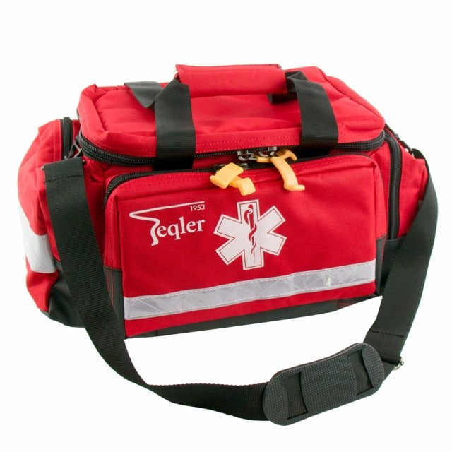 Lüttich emergency bag with removable shoulder strap and reflective strips