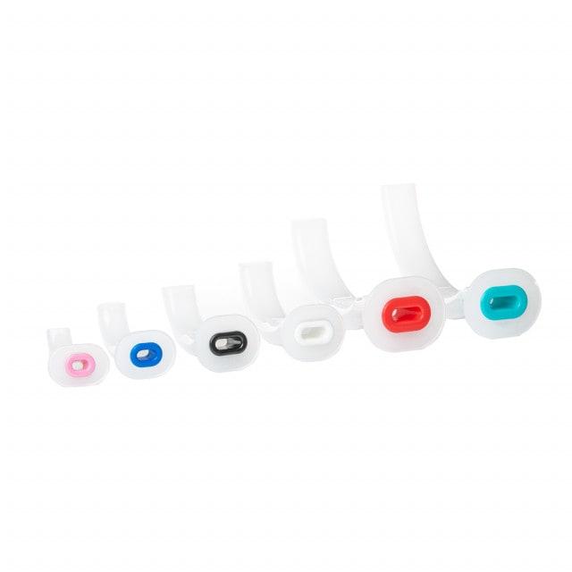 Mayo-tube kleurcode naar grootte