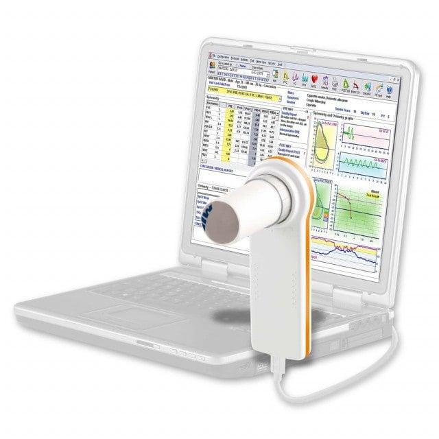 MiniSpir Nuevo espirómetro para PC, incluye software WinspiroPRO de alto rendimiento para PC
