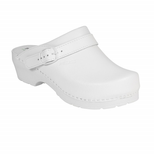 Clogs with mid sized heel | Adjustable & foldable heel straps