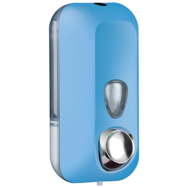 Wall soap dispenser Colored Edition, available in different colours