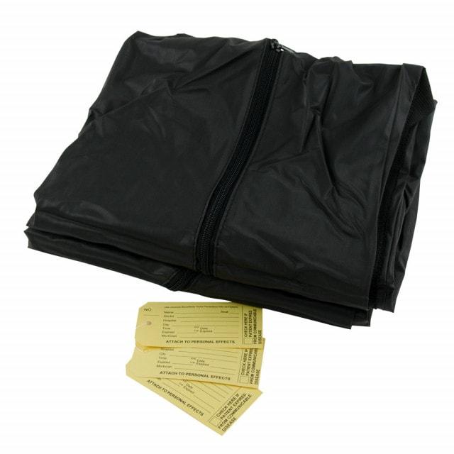 Premium lijkzak, zwart