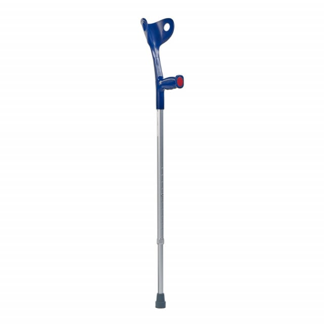 Teqler forearm crutch, height adjustable from 70-93 cm from the lower edge of the handle