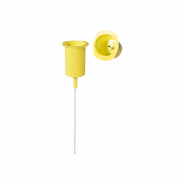 Urine transfer unit for use with V-Monovette tubes