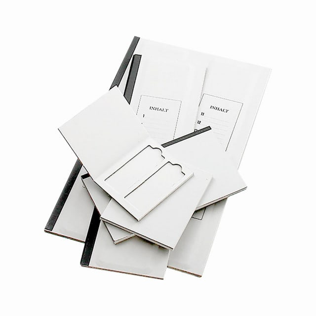 Microscope slide folder with lid | Available for 2 or 20 microscope slides