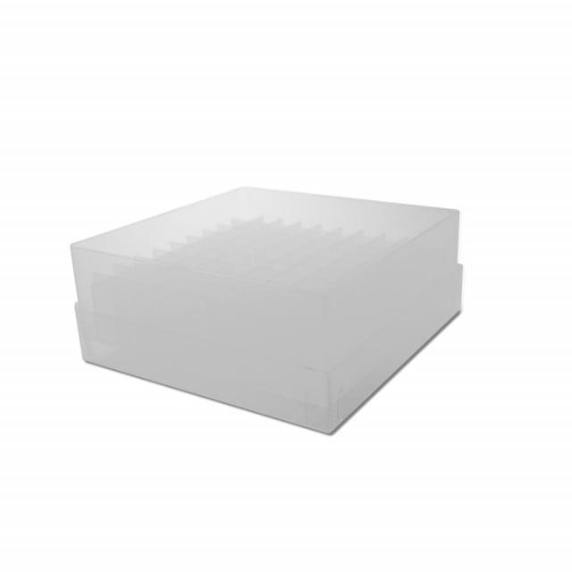 Pudełko na krioprobówki, dostępne  na krioprobówki w różnych rozmiarach