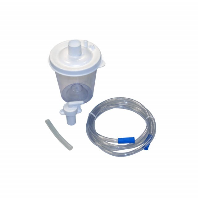 DeVilbiss collection container set for operating Vacu-Aide aspirators