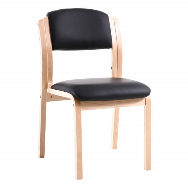 Teqler waiting room chair with hygienic PU synthetic leather cover