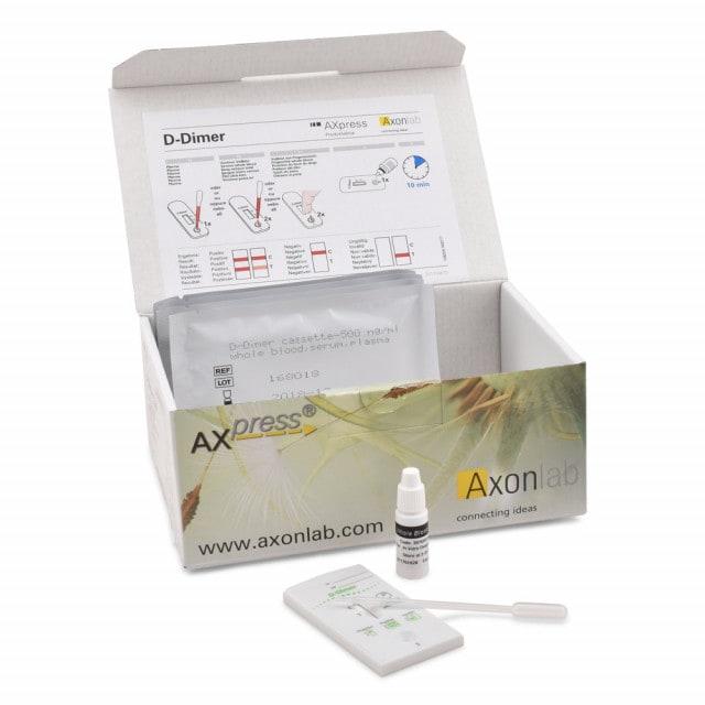 Test rapide AXpress D-Dimer pour sérum ou plasma