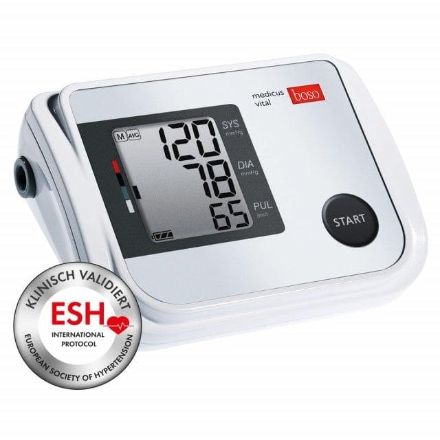 boso medicus vital blood pressure monitor with oscillometric measuring method
