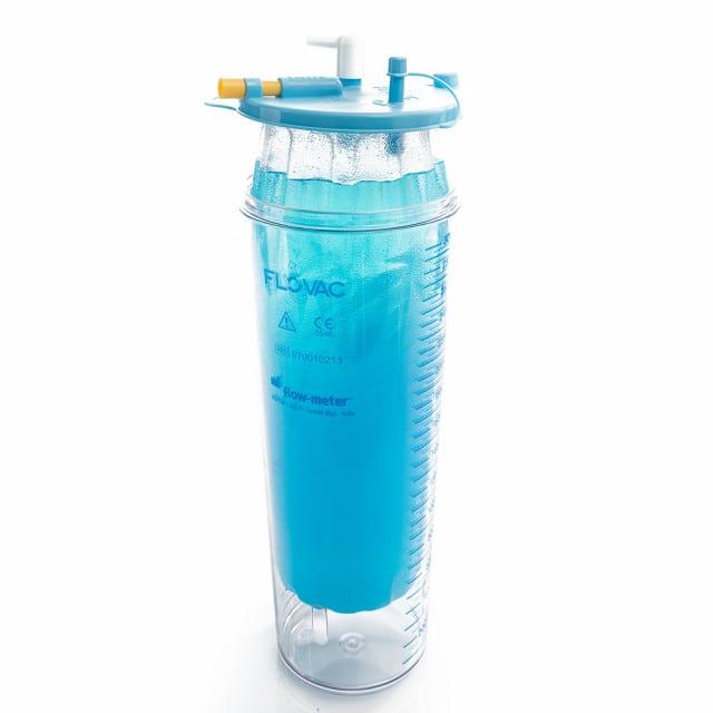 Flovac single-use bag, 1 litre capacity | For use with Medutek & DeVillbiss aspirators