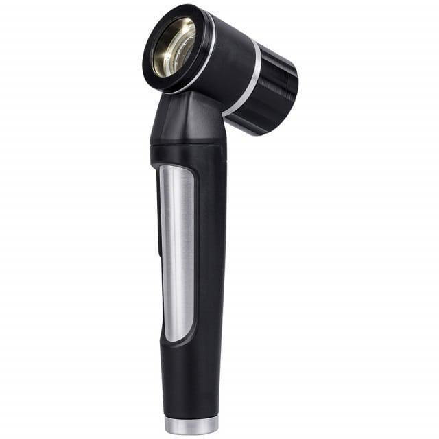 Dermatoscopio Luxascope con mango firme y diseño ergonómico