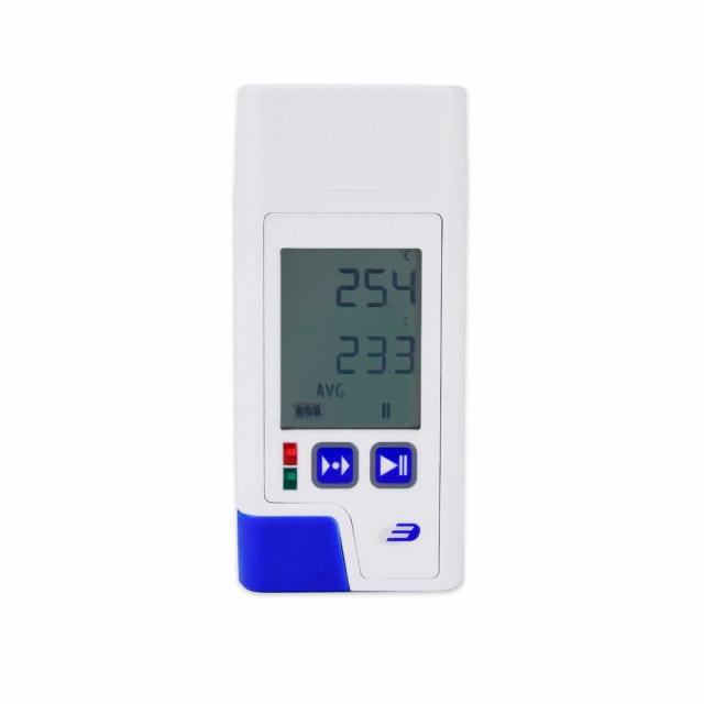 LOG 200 PDF-datalogger voor het registreren van de koelkasttemperatuur