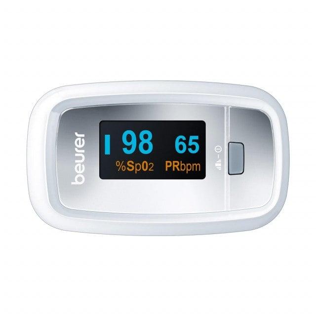 Oxímetro de pulso PO 30 de Beurer con pantalla a color