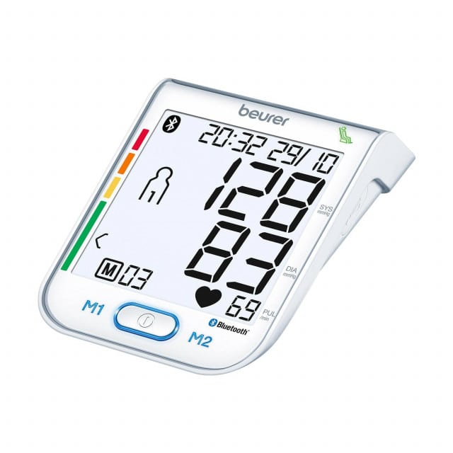 Beurer BM 77 Bluetooth blood pressure monitor with resting indicator