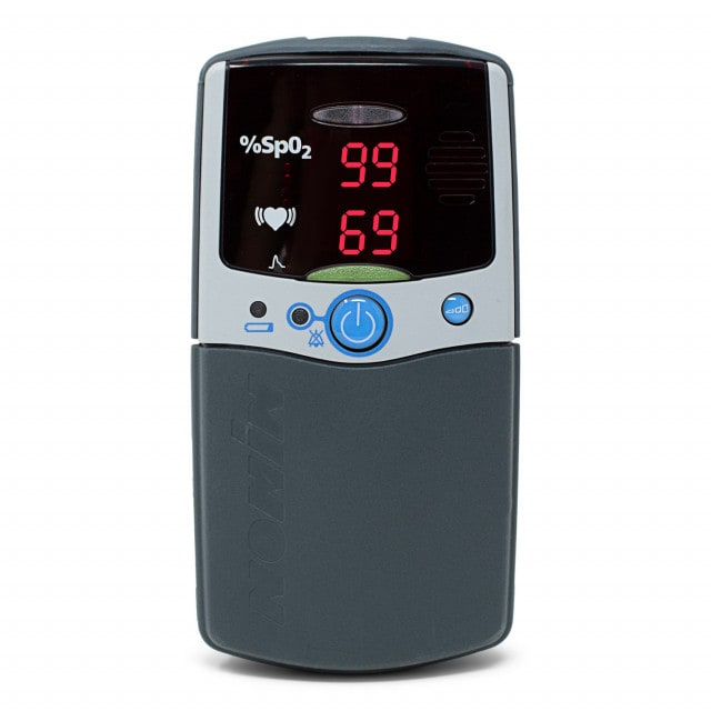 PalmSAT® 2500A VET pulse oximeter including storage and alarm function