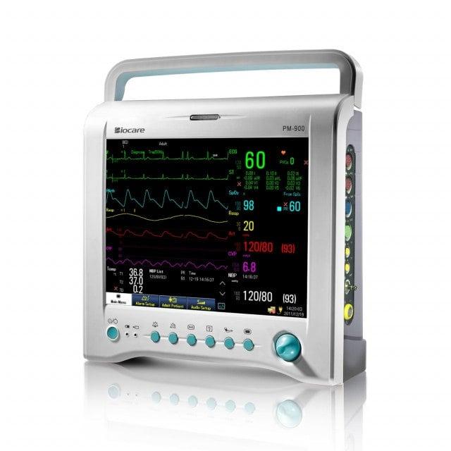 Monitor de paciente PM-900 con pantalla TFT-LCD de 12 pulgadas