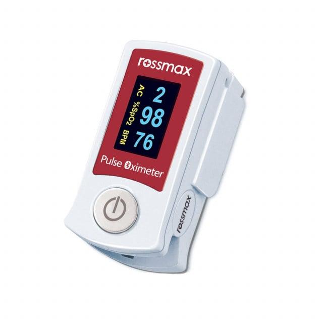 Bluetooth-Fingerpulsoximeter SB210 mit ACT