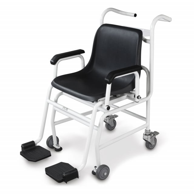 Kern MCC wheelchair scale with dish-shaped seat