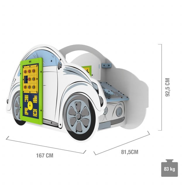 """IKC play system """"VW Beetle"""" including two game modules"""
