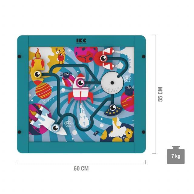 Tavola gioco per bambini IKC «Missili» con divertenti mini shuttle per bambini