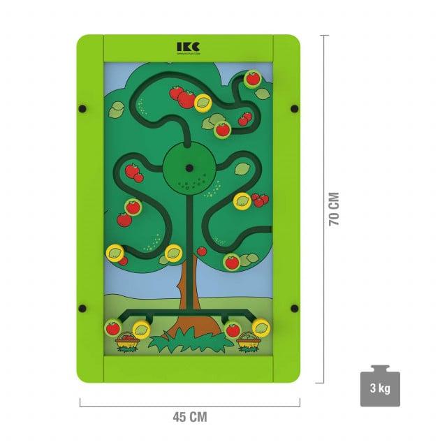 IKC sorteerboom voor speelmodules - voor wandbevestiging