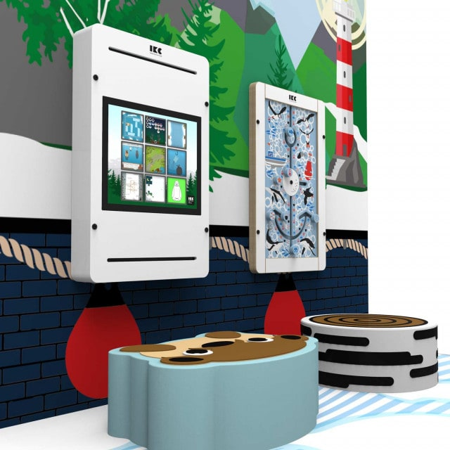 """The """"Arctic Playground S"""" is ideal for smaller waiting rooms"""